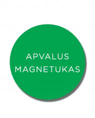 Apvalus-magnetukas