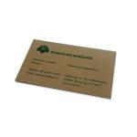 Vizitinės kortelės (Kraftinis popierius)